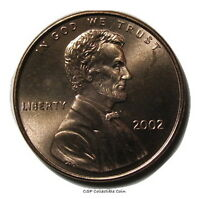 2002 P LINCOLN MEMORIAL CENT BU PENNY US COIN