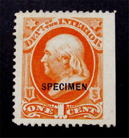 NYSTAMPS US OFFICIAL STAMP  O15S MINT NGAI $60