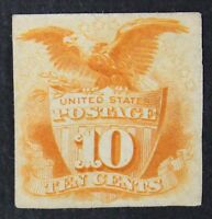 CKSTAMPS: US STAMPS COLLECTION SCOTT116P4 UNUSED H NG PROOF THIN