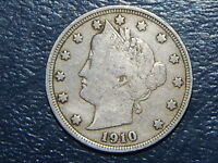 1910 LIBERTY NICKEL  COIN  524