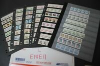 CKSTAMPS : POWERFUL MINT MOST NH US STRIPS COILS PNC STAMPS COLLECTION IN PAGES