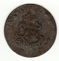 FRENCH COLONIAL 1750 A BILLON SOUS MARQUES VLACK 30 R5