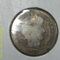1900 P BARBER DIME G/VG ESTATE 5085 ANTIQUE  SINGLE LOT