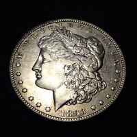 1893-O MORGAN SILVER DOLLAR - BEAUTIFUL EXTRA FINE  DETAILS KEY FROM THE NEW ORLEANS MINT