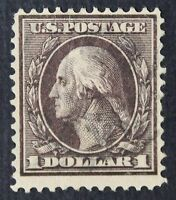 CKSTAMPS: US STAMPS COLLECTION SCOTT342 $1 WASHINGTON USED CV$100