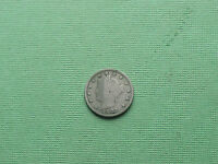 1902 LIBERTY HEAD V NICKEL 5 CENT COIN
