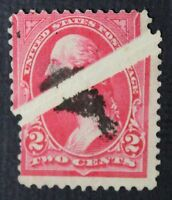 CKSTAMPS: US ERROR EFO FREAKY STAMPS COLLECTION USED FOLDED BEFORE PRINTING