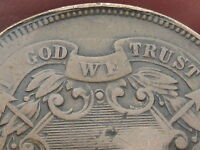 1868 TWO 2 CENT PIECE- WE SHOWING- CIVIL WAR TYPE COIN