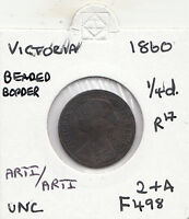 1860 VICTORIA FARTHING S3958