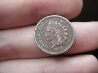 1861 INDIAN HEAD CENT PENNY   DATE  VG/FINE DETAILS