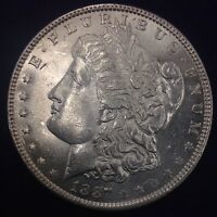 1887 $1 MORGAN SILVER DOLLAR