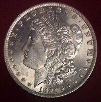 1884 O $1 MORGAN SILVER DOLLAR UNC