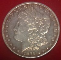 1879 S $1 MORGAN SILVER DOLLAR