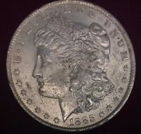 1885 O $1 MORGAN SILVER DOLLAR UNC