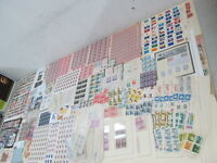 NYSTAMPS E LARGE MINT USED OLD US STAMP & PLATE BLOCK COLLECTION
