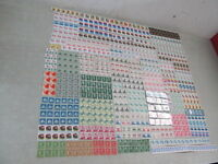 NYSTAMPS E MANY MINT NH OLD US STAMP COIL & PLATE COIL COLLECTION