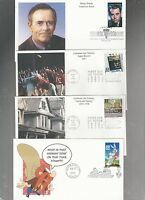 US FDC  FIRST DAY COVER COLLECTION LOT OF 21 BY MYSTIC  1997 TO 2005