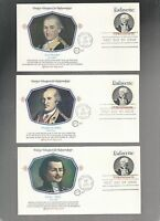 US FDC FIRST DAY COVER   1716 LAFAYETTE 1977  LOT OF 6  BY FLEETWOOD