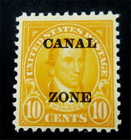 NYSTAMPS US CANAL ZONE STAMP  CZ75 MINT OG H $43
