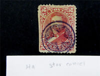 NYSTAMPS US HAWAII STAMP USED STAR CANCEL