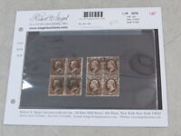 NYSTAMPS US OFFICIAL STAMP  O77 , O79 USED BLOCK OF 4 PAID $403
