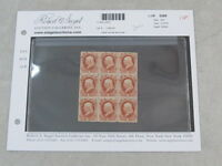 NYSTAMPS US OFFICIAL STAMP  O83 MINT OG NH BLOCK OF 9 PAID $345
