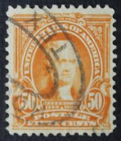 CKSTAMPS: US STAMPS COLLECTION SCOTT310 50C JEFFERSON USED