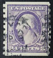 CKSTAMPS: US STAMPS COLLECTION SCOTT394 3C WASHINGTON USED 25MM CV$67.50