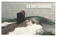 SCOTT 3377  US NAVY SUBMARINES COMPLETE BOOKLET  2 PANES OF 5 STAMPS  FV$9.80