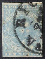 CKSTAMPS: US CONFEDERATE STATES STAMPS COLLECTION SCOTT2 USED THIN TEAR