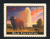 4379 OLD FAITHFUL $17.50 EXPRESS MAIL MINT SUPERB-NH