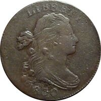 1800 DRAPED BUST CENT  EXTRA FINE DETAILS  S 203 RARITY 3