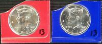 2013 P&D IN MINT PCKG KENNEDY HALF DOLLAR   BEST VALUE @ CHERRYPICKERCOINS