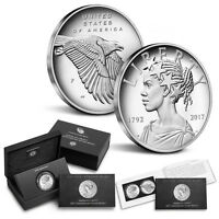 2017  225TH ANNIVERSARY AMERICAN LIBERTY ONE OUNCE SILVER MEDAL
