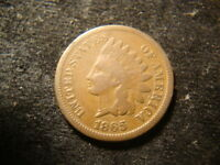 1864 BZ 1865 1875 INDIAN HEAD CENTS  LOOKING COINS ALDZ