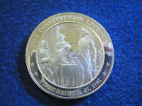 1787 CONSTITUTION APPROVED GEM PROOF SILVER MEDAL    FREE U S SHIPPING