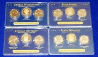 4 2007 PRESIDENTIAL 3 COIN SETSUNCIRCULATED P & DPROOF S MINT12 COINS