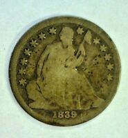 1839-O LIBERTY SEATED SILVER DIME       2345NAM