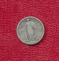 1917-S STANDING LIBERTY SILVER QUARTER TYPE 1 CIRCULATED QUARTER FREE SHIP