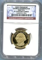2007-S $1 GEORGE WASHINGTON NGC PF70 PRESIDENTIAL DOLLAR ULTRA CAMEO PROOF