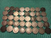 COMPLETE ROLL OF 40 1910 LIBERTY NICKELS- NO ACID RESTORED