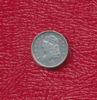 1832 CAPPED BUST SILVER HALF DIME EXCELLENT CIRCULATED COIN
