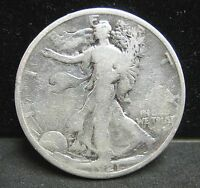 1921 WALKING LIBERTY HALF DOLLAR   CIRCULATED   CLEANED
