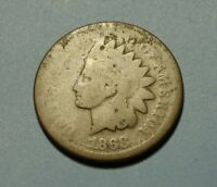 1868 INDIAN HEAD PENNY W26186
