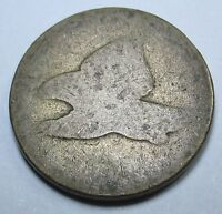 ND US FLYING EAGLE CENT PENNY ANTIQUE US CURRENCY INDIAN HEAD OLD USA MONEY COIN