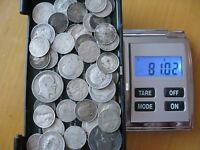 81G SCRAP PRE 1920 UK COINS .925 STERLING SILVER SHILLINGS S