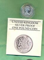 1 COIN 1983 SILVER PROOF IN CASE OF ISSUE