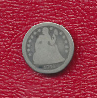 1841 O SEATED LIBERTY SILVER DIME   NICE NEW ORLEANS COIN