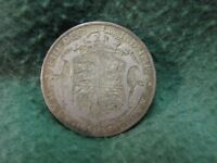 1921 GREAT BRITAIN UK  HALF CROWN  SILVER COIN  VERY NICE TY