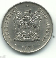 SOUTH AFRICA 10 CENTS 1971 KM 85